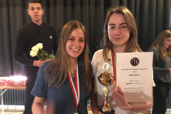 Vindere af International Language Competition